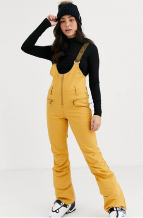 Gele overall