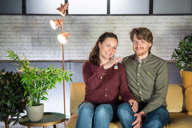 Nathalie (32) en Jeroen (32) uit Antwerpen