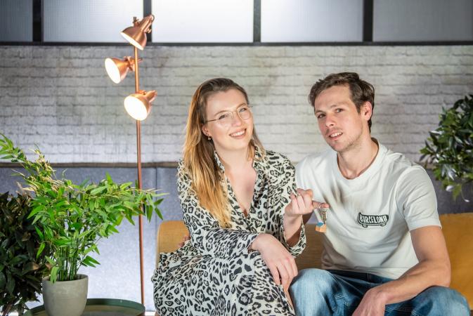 Mila (25) en Mathias (34) uit Oost-Vlaanderen