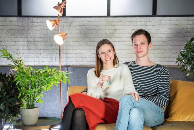 Cara (25) en Wouter (26) uit Antwerpen
