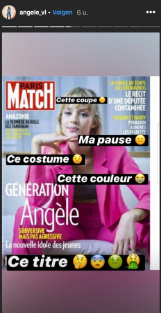 De bewuste cover van Paris Match.