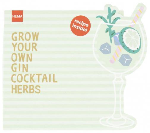 Grow your cocktail-kruiden