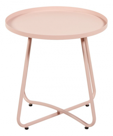 Roze bijzettafeltje