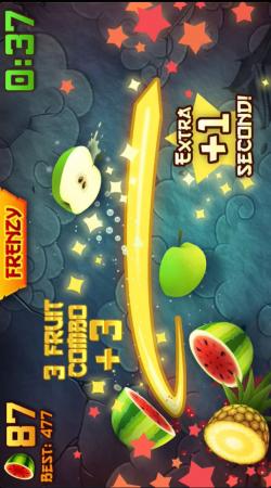 11. Fruit Ninja