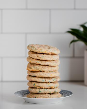 Funfetti cookies