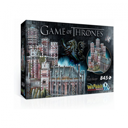 3D-puzzel van 'Game of Thrones' met 845 puzzelstukjes