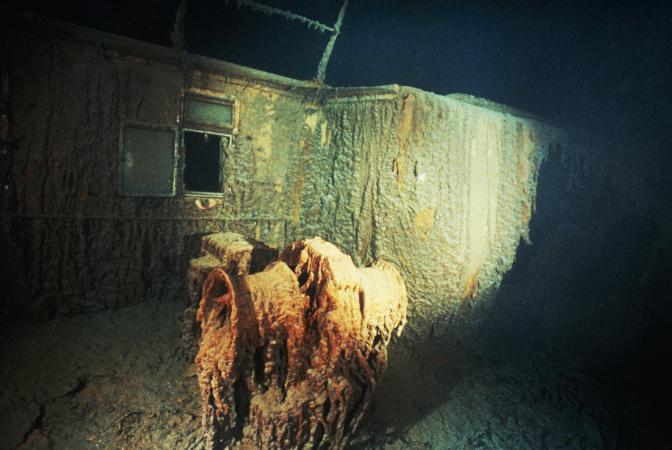 Le Titanic aura entièrement disparu en 2030