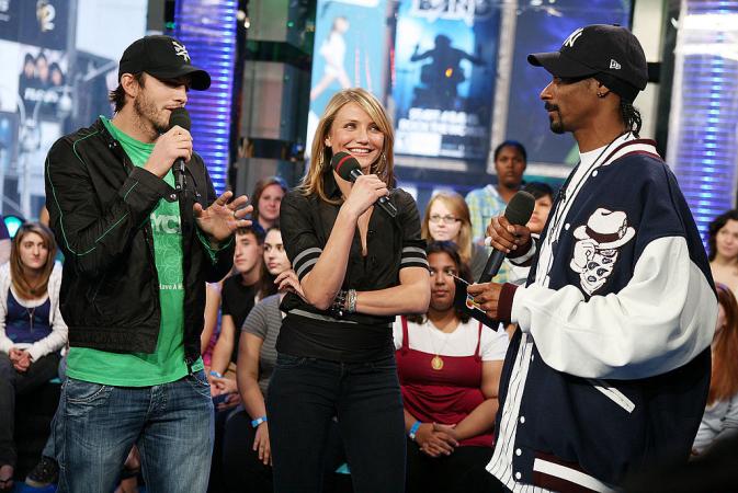 Cameronz Diaz et Snoop Doog étaient ensemble au lycée