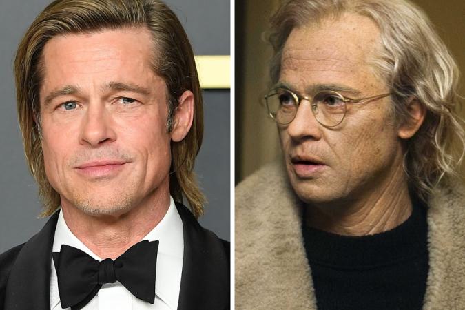 Brad Pitt dans l'Étrange Hitoire de Benjamin Button