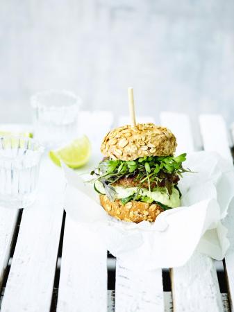 Green goddess burger