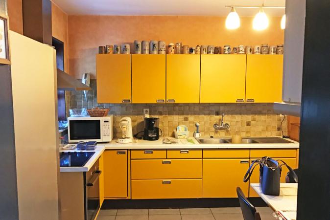 De keuken voor de verbouwing