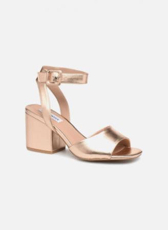 Roségouden sandalen 'Debbie'