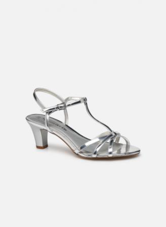 Zilverkleurige sandalen 'Yuri'