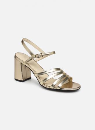 Goudkleurige sandalen 'Cherie'