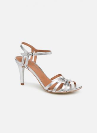 Zilverkleurige sandalen 'Euria'