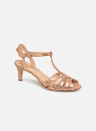Roségouden sandalen 'Doliate'