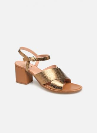 Goudkleurige sandalen 'Infinity Talon'