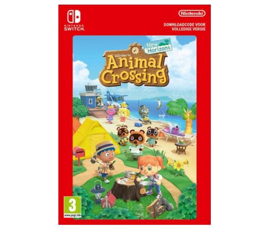 Animal Crossing op Nintendo Switch