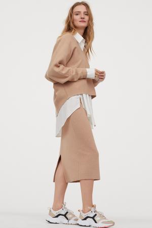 Fijngebreide rok