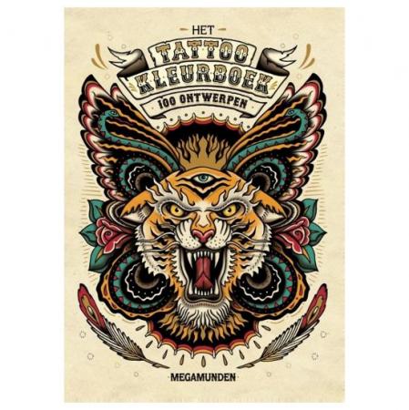 Het tattoo kleurboek