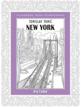 Kleurboek New York