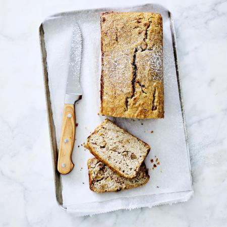 Gluten- en lactosevrij bananenbrood