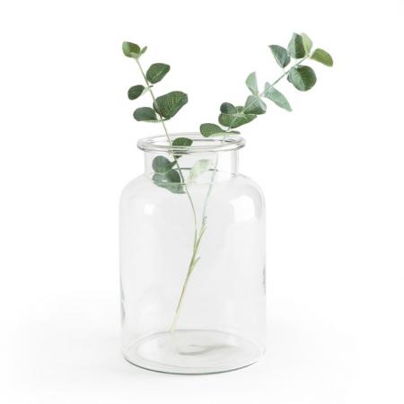Glazen vaas (25 cm)