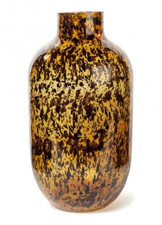 Vaas met luipaardmotief (34,5 cm)