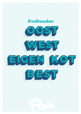 Oost west, eigen kot best