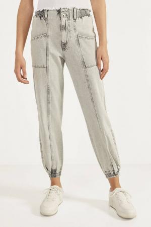 Jeans in joggingstijl