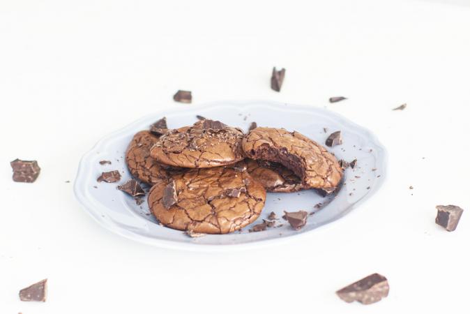 Browniekoekjes