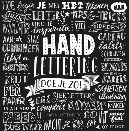 'Handlettering doe je zo!' van Karin Luttenberg
