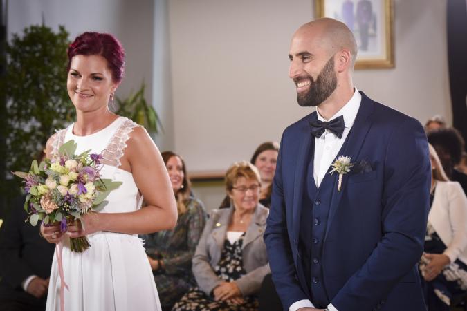 Anthony et Audrey: pas mariés