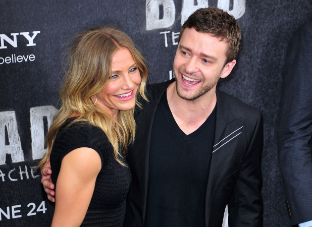 Cameron Diaz et Justin Timberlake
