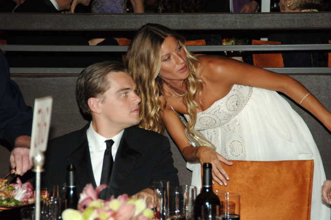 Leonardo DiCaprio et Gisele Bündchen