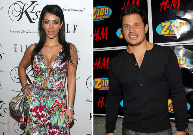 Kim Kardashian en Nick Lachey