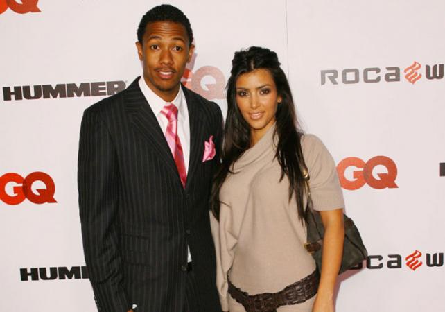 Kim Kardashian en Nick Cannon