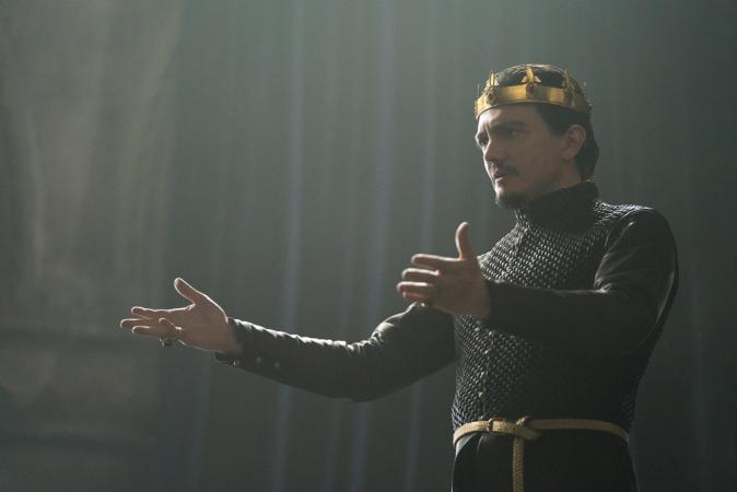 Sebastian Armesto als koning Uther Pendragon
