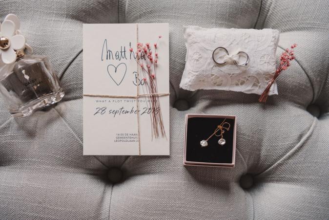 De ringen en de uitnodiging