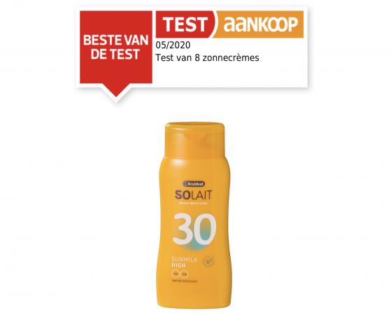 Solait SPF 30 High Sunmilk