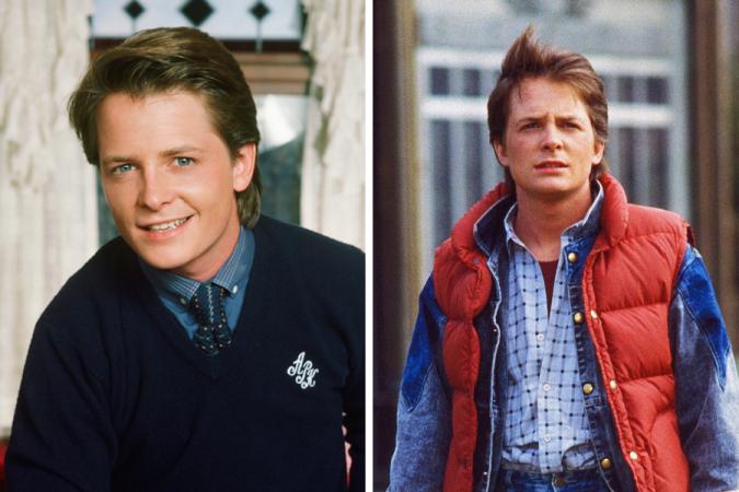 Michael J.Fox – Marty McFly dans «Retour vers le Futur»