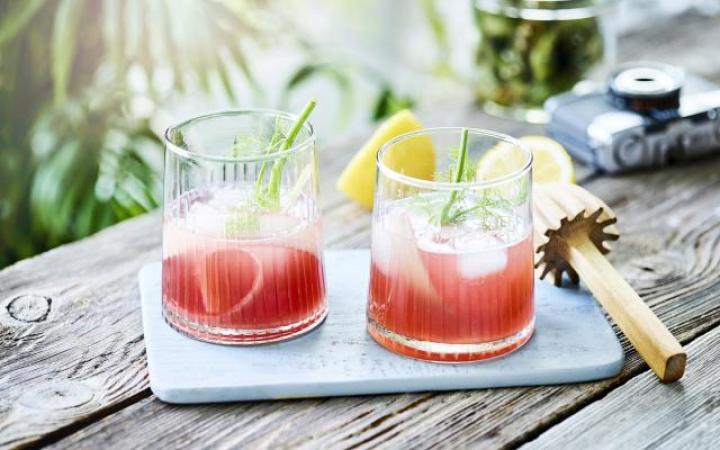 Taureau (21 april – 21 mei): cocktail vermouth, gin et fenouil
