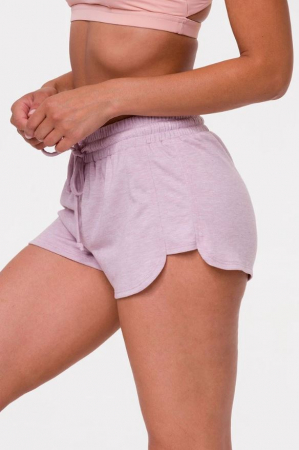 Lavendelkleurige short