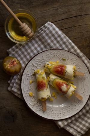 Vijg + Griekse yoghurt + honing