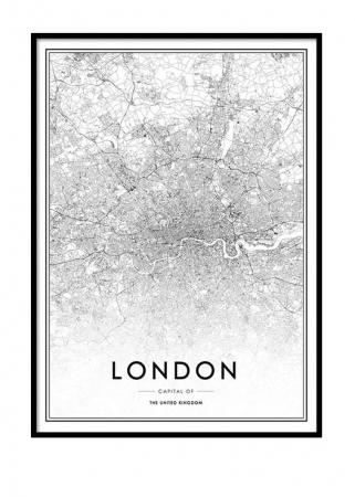 Poster van Londen