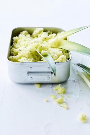Granité van kiwi, ananas en limoen(4 pers.)