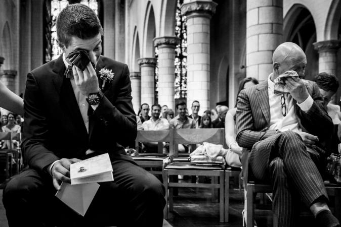 La cérémonie à l'église