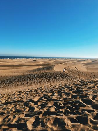Le désert mongol vs Grande Canaries