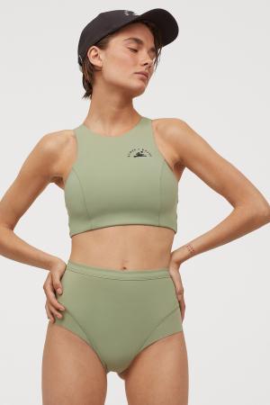 Haut de bikini, 19,99 € et culotte assortie, 17,99 €