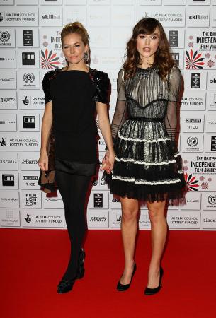 Keira Knightley et Sienna Miller